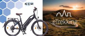 NCM Milano Bicicletta elettrica da Trekking