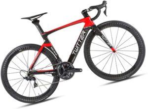 DUABOBAO Bicicletta da Corsa in Fibra di Carbonio Ultraleggera