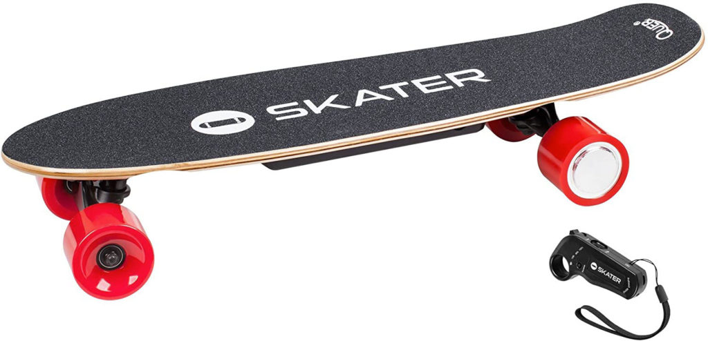 Quer-Skater-ZAB0025-Skateboard-Elettrico-con-Telecomando