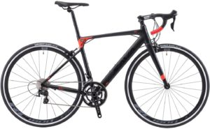SAVADECK Bici da Corsa in Lega di Alluminio