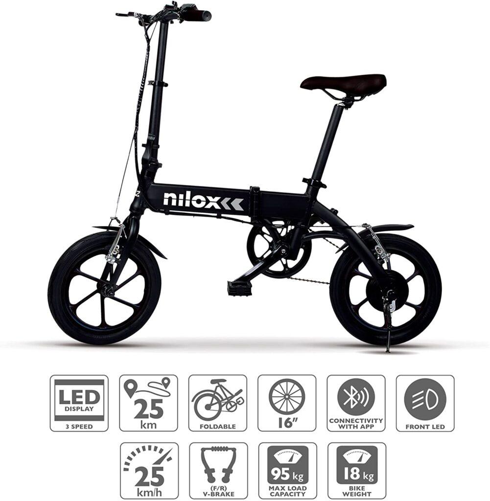 Nilox-Doc-X2-Plus-Bicicletta-Elettrica-Pieghevole