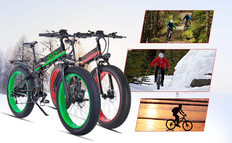 GUNAI-Mountain-Bike-Elettrica-1000W